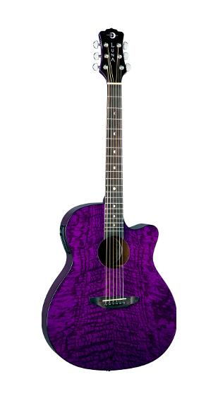 Luna Gypsy Quilt Ash A/E Trans Purple - GYP E QA TPP