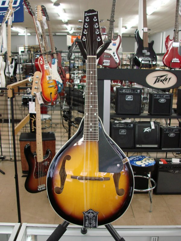 Savannah SA-100 Mandolin Sunburst