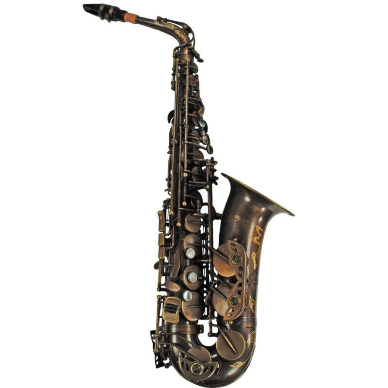 Schiller Elite IV Alto Saxophone - Vintage Gold
