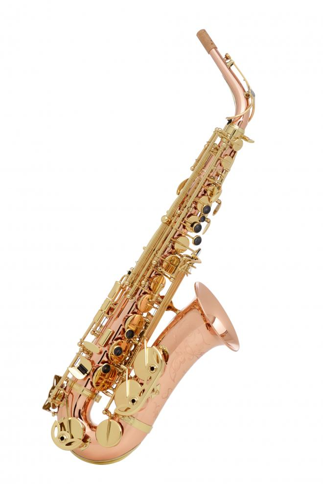 Buffet Crampon Model BC2525-2 Alto Sax in Silvered Red Copper
