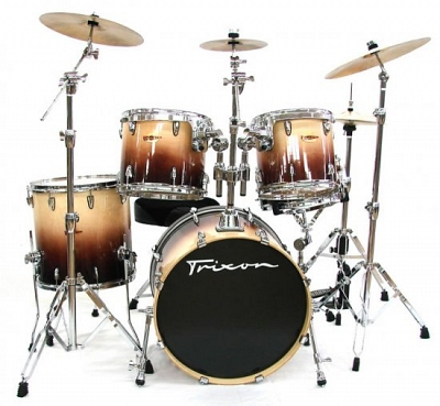 Trixon Solist Birch Drum Set - Walnut