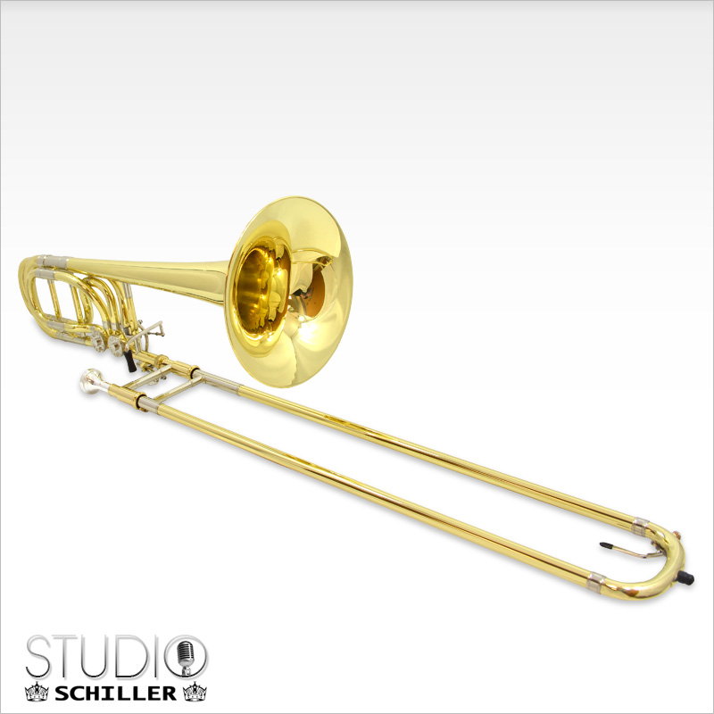 Schiller Studio Double Trigger Bass Trombone