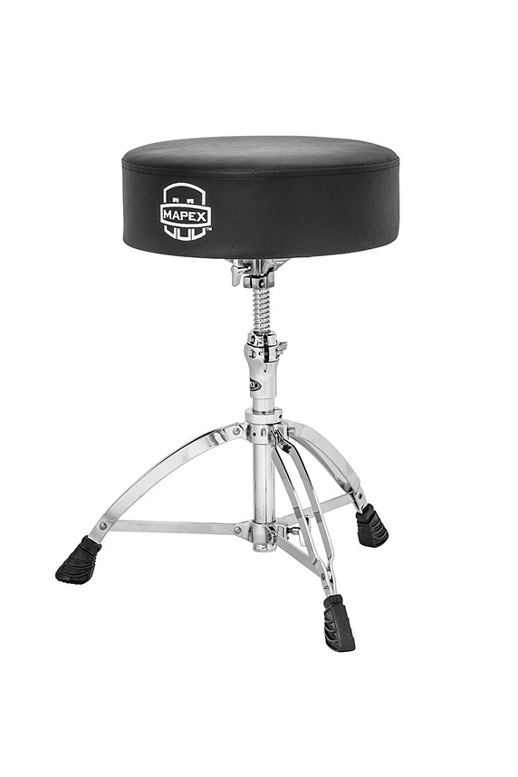 Mapex Round Top Double Braced Drum Throne - T750A