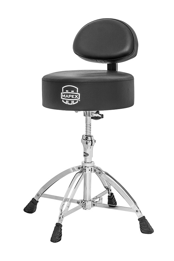 Mapex Cloth Saddle Top Double Braced Drum Throne - T770
