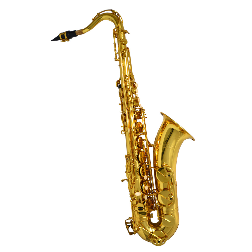 Schiller American Heritage 400 Tenor Saxophone - Gold Knox