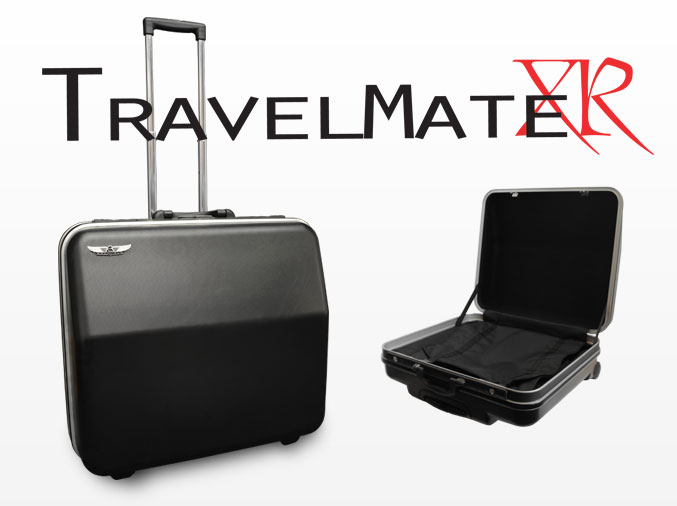 Excalibur TravelMate XR Accordion Case - Shadow Black
