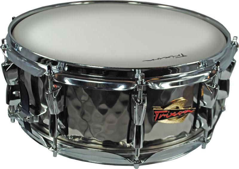 Trixon Solist Hand-Hammered Steel Snare Drum