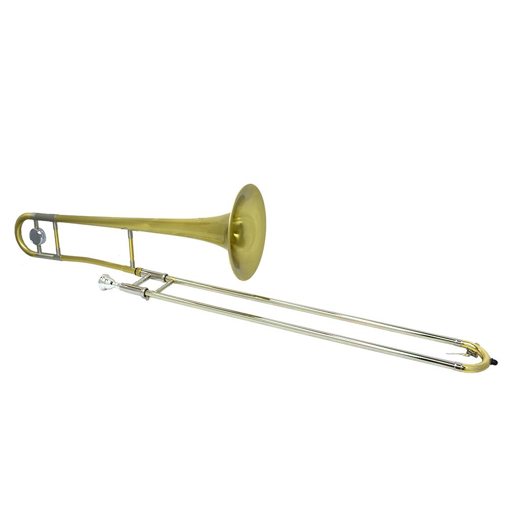 Schiller Studio Tenor Trombone - Brushed Gold