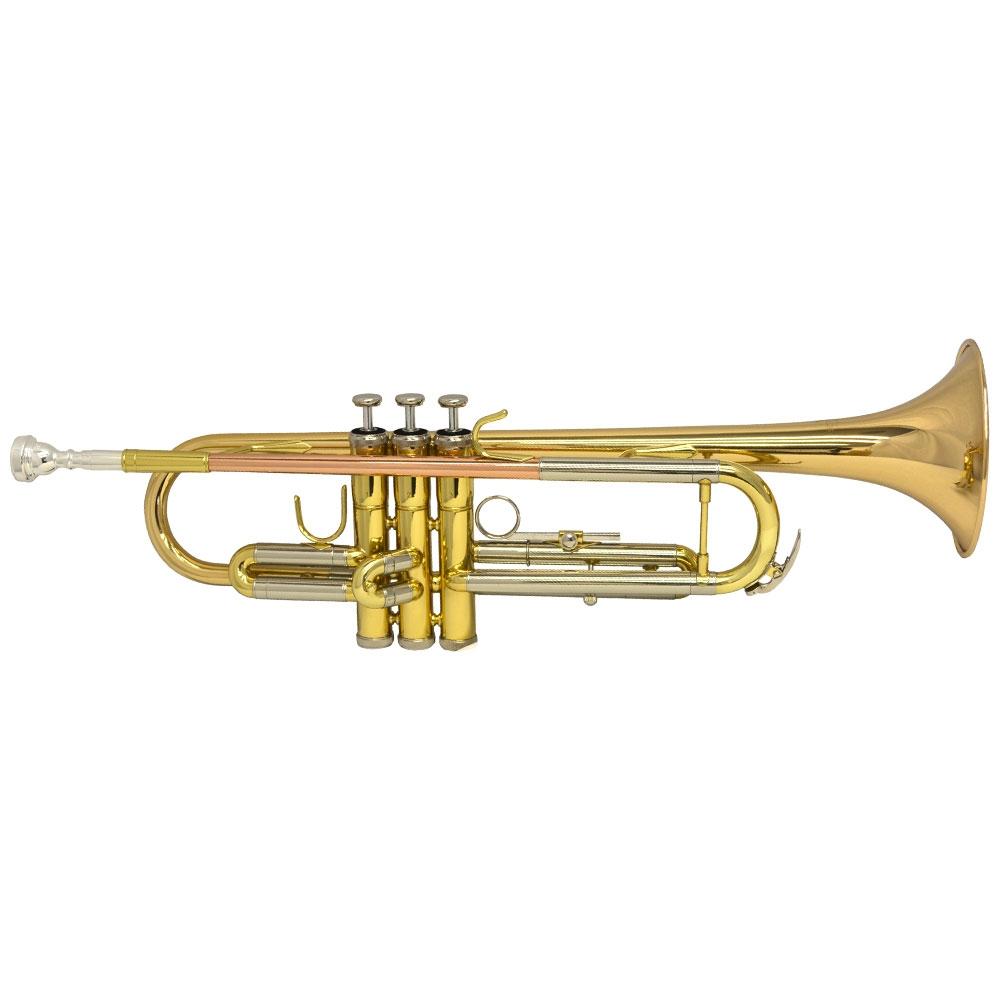 Schiller American Heritage 78 Lightweight Riviera Trumpet - Gold/Rose