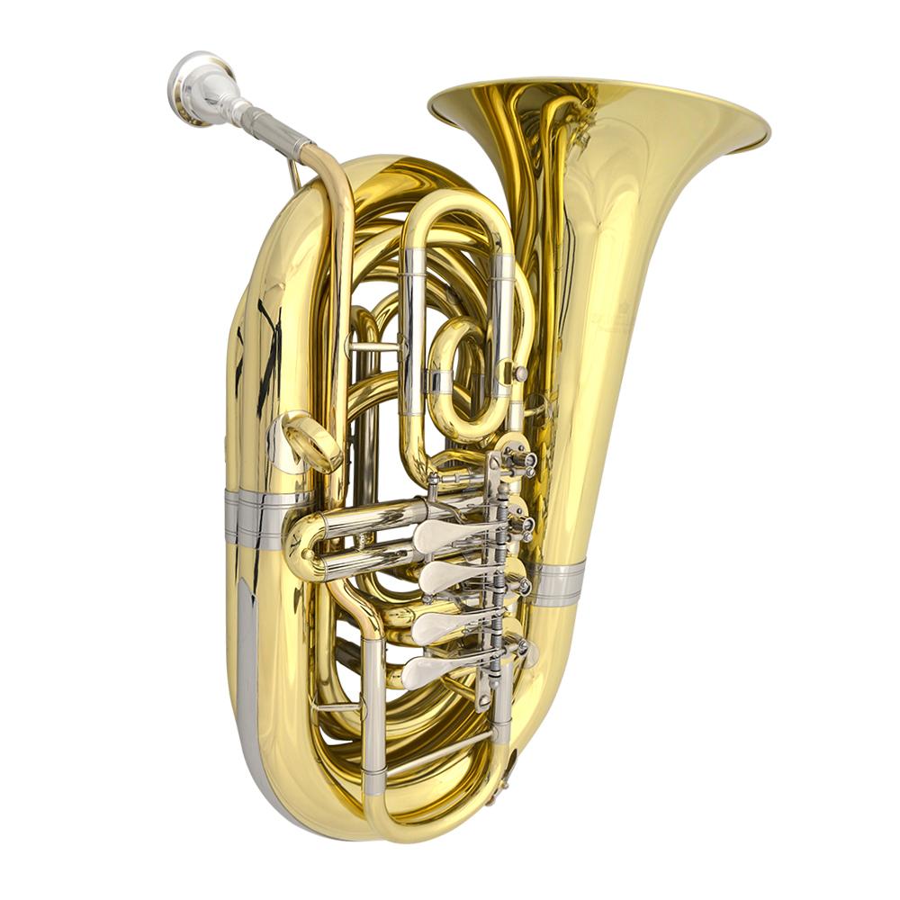 Schiller American Heritage 4 Valve Rotary Portermans C Tuba