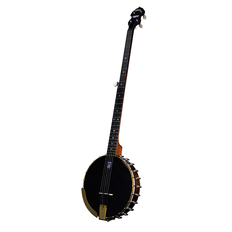 Deering Vega® Woodsongs Campfire Long Neck Banjo