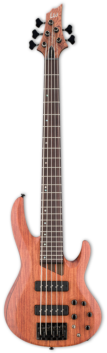 ESP LTD B-1005SE Natural Satin Bass Guitar