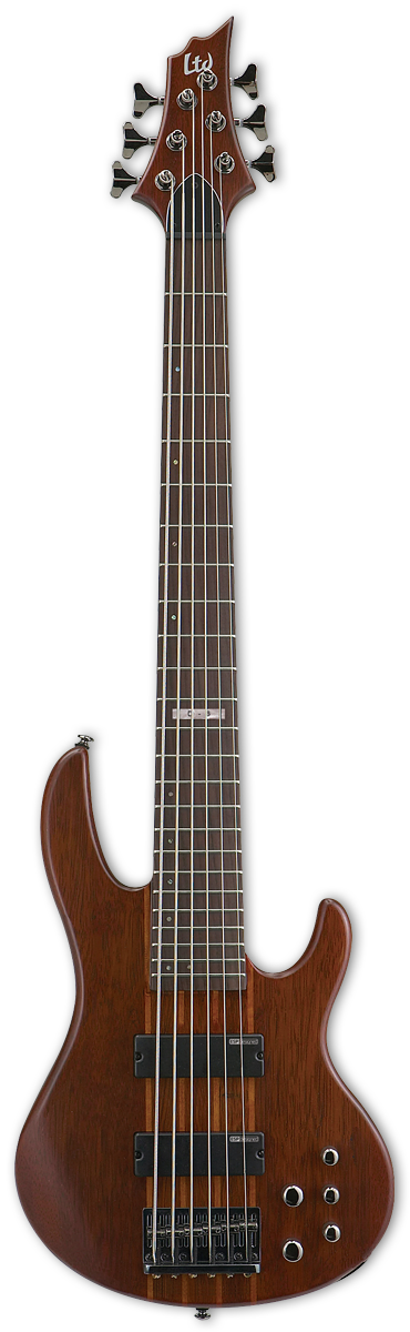 ESP LTD D6 Natural Satin Bass Guitar