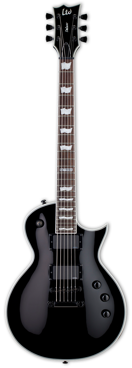 ESP LTD EC-1000S EMG Black Electric Guitar