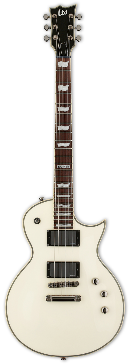 ESP LTD EC-401 Olympic White Electric Guitar