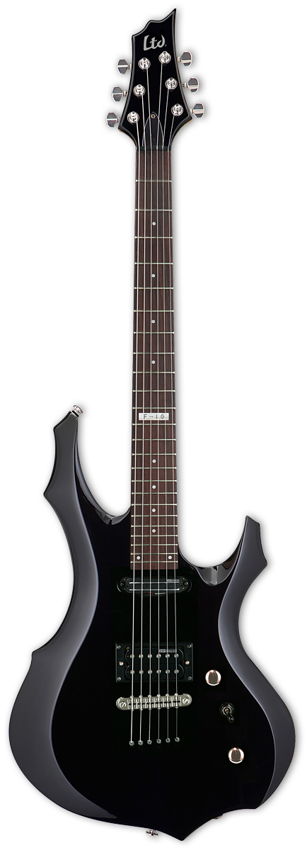 ESP LTD F-10 Black Electric Guitar