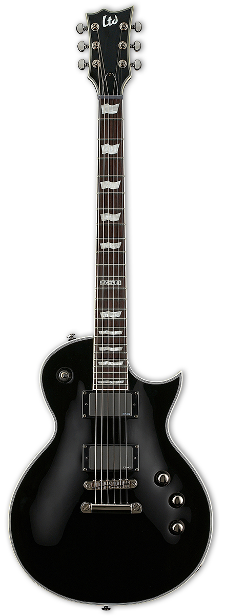 ESP LTD EC-401B Black Satin Electric Guitar