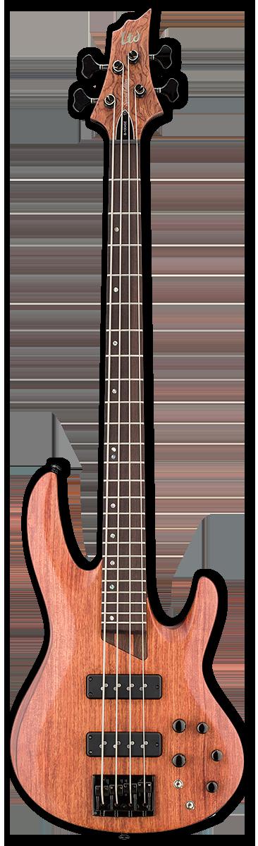 ESP LTD B-1004SE Natural Satin Bass Guitar
