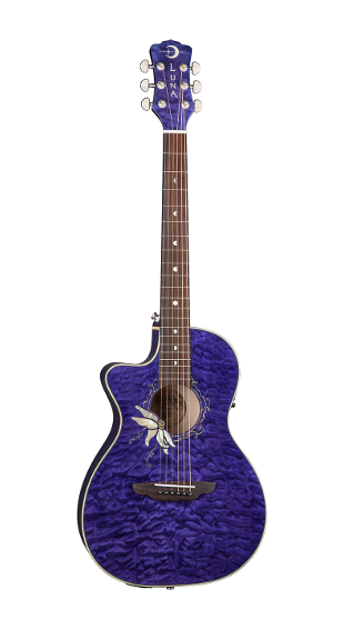 Luna Flora Passionflower A/E Lefty Trans Purple - FLO PF QM LEFTY