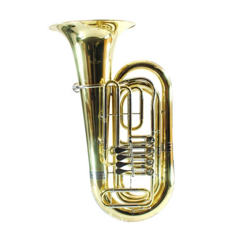 Schiller American Heritage 3/4 - 4 Rotary Valve BBb Standard Light Tuba