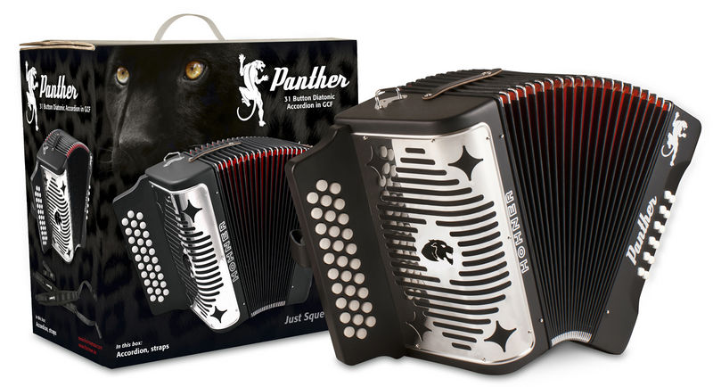 Hohner Panther Accordion FBbEb