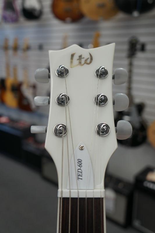 ESP Signature Series TED-600 Snow White Electric Guitar