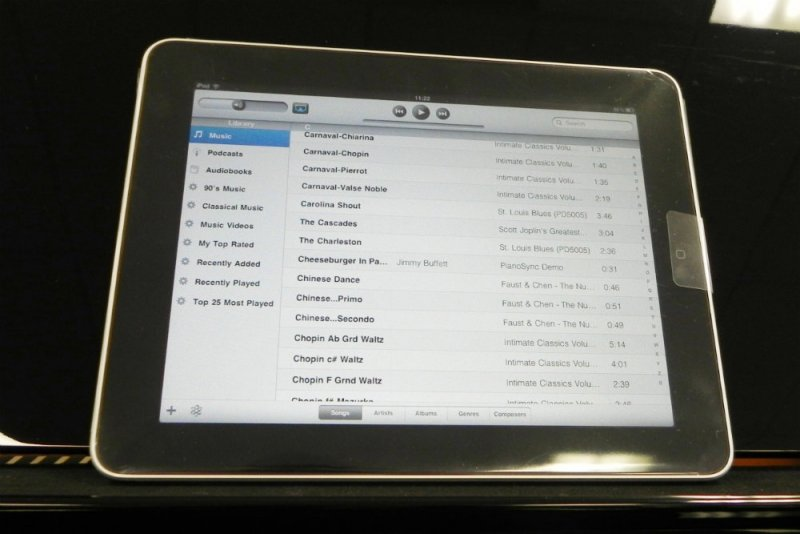 Schiller Performance Berlin iPad Player System