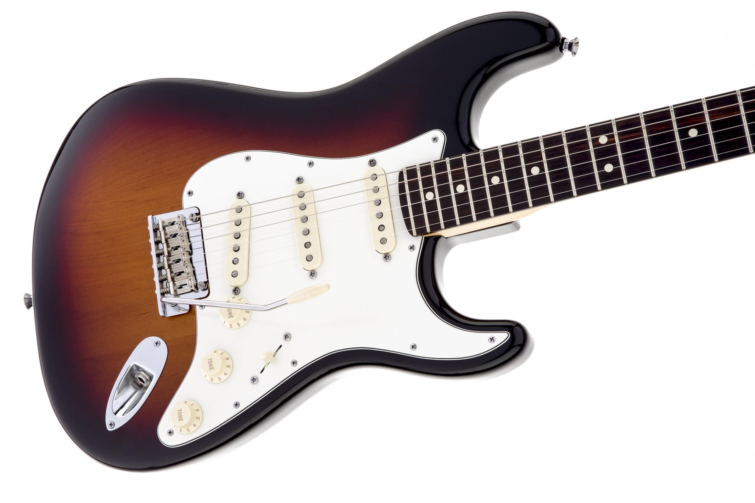 fender american standard stratocaster 3 color sunburst rosewood fingerboard electric guitar. Black Bedroom Furniture Sets. Home Design Ideas