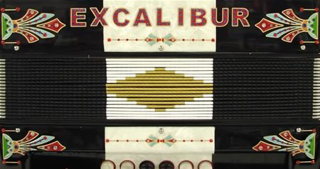 Excalibur Crown Series 5 Switch Tex Mex Accordion - Two Tone