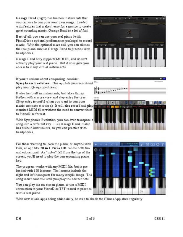 Schiller Performance Berlin iPad Player System - Walnut Polish