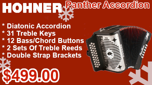 Hohner Panther Accordion on sale
