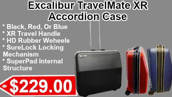 Excalibur TravelMat XR Accordion Cases on sale