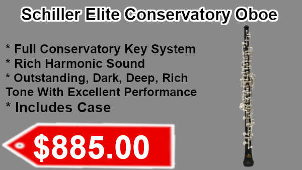 Schiller Elite Conservatory Oboe on sale