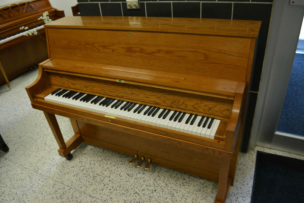 YAMAHA UPRIGHT PIANO MX22 OAK SATIN (used)
