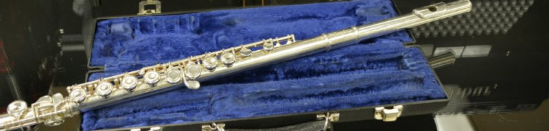 BLESSING FLUTE SILVER PLATED