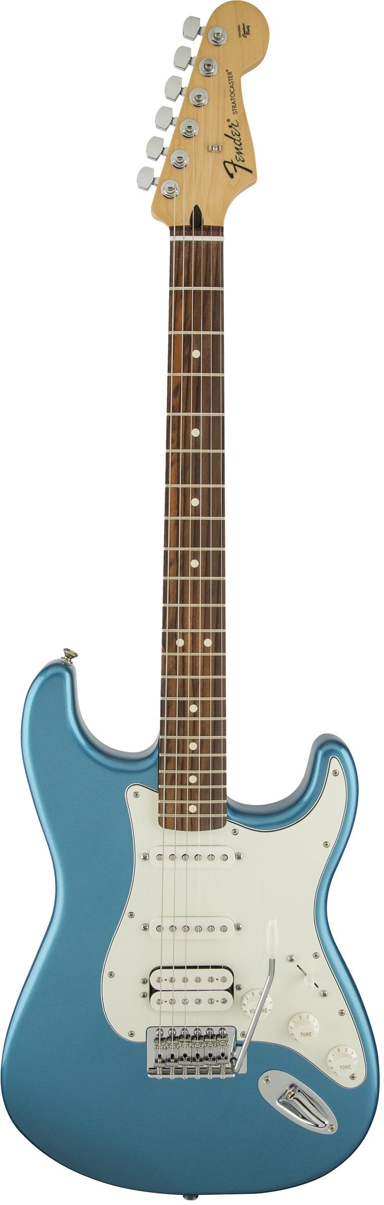 Fender Standard Stratocaster® HSS Lake Placid Blue Rosewood Fingerboard Electric Guitar
