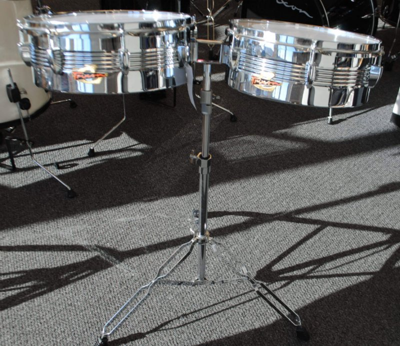 Trixon Timbale Set in Chrome