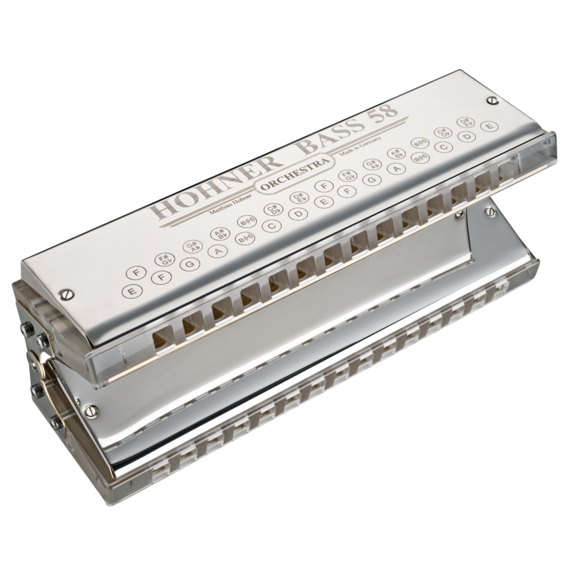 Hohner Orchestral Bass 58 Harmonica