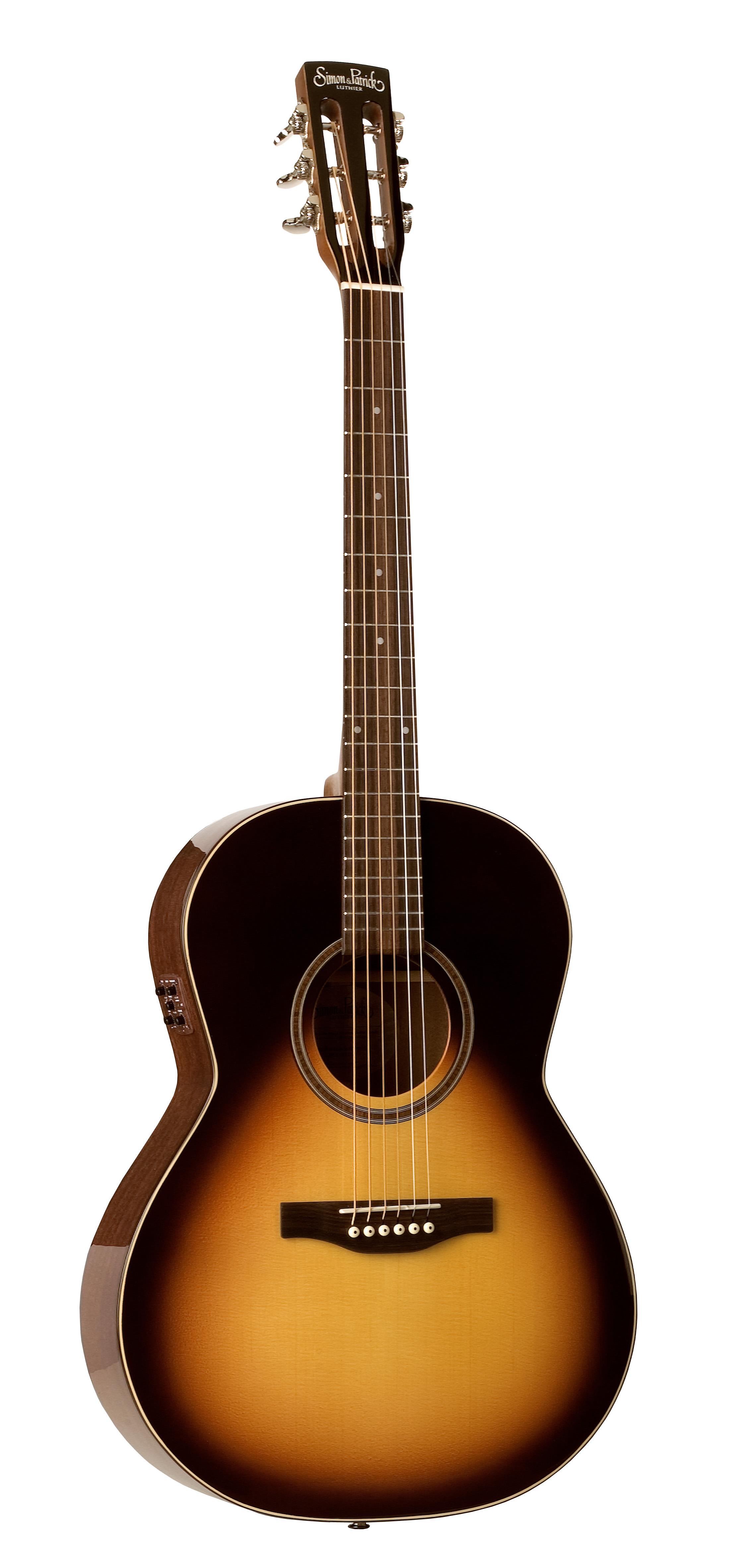 Simon & Patrick 38107 Woodland Pro Folk Sunburst Acoustic Electric Guitar w/ B-Band A3T