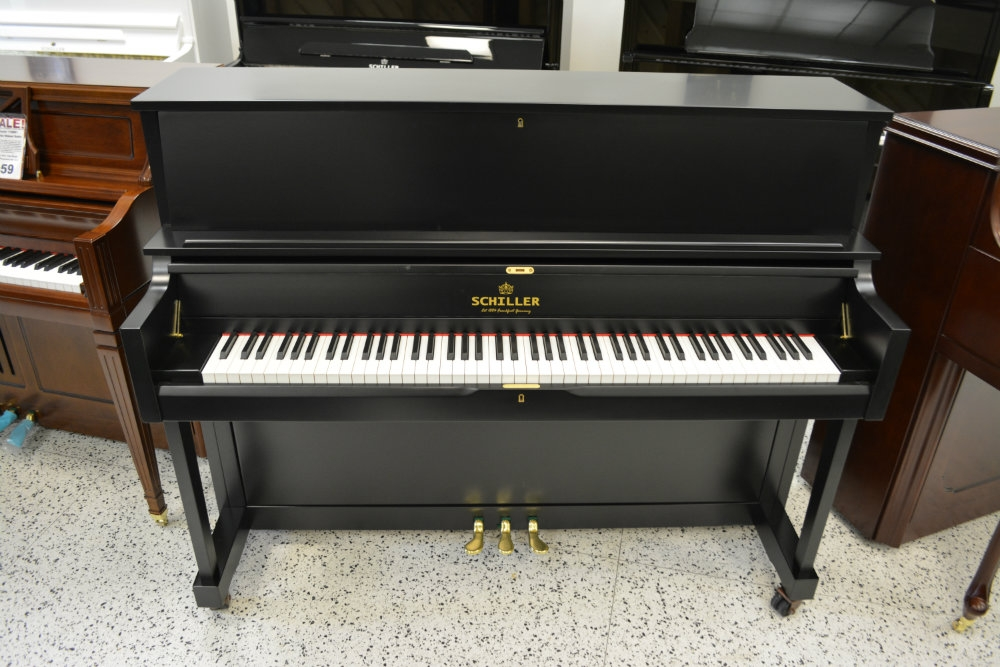 "Schiller Professional Upright Frankfurt Studio 46"" - Ebony Satin"
