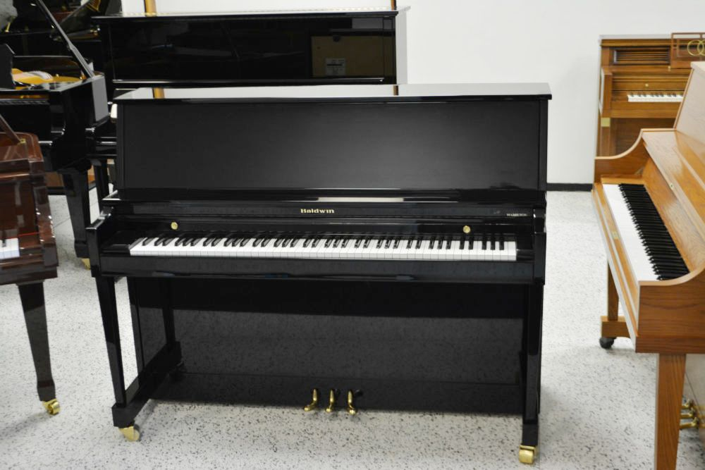 Baldwin Upright Piano - Ebony Polish