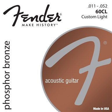 FENDER PHOSPHOR BRONZE ACOUSTIC GUITAR STRINGS - .011-.052