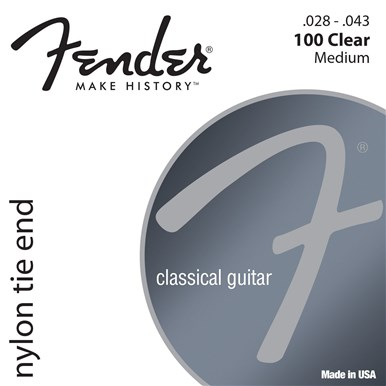 Fender CLASSICAL/NYLON GUITAR STRINGS - .028-.043 Tie End