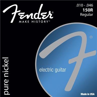 Fender ORIGINAL PURE NICKEL 150 GUITAR STRINGS - .010-.046