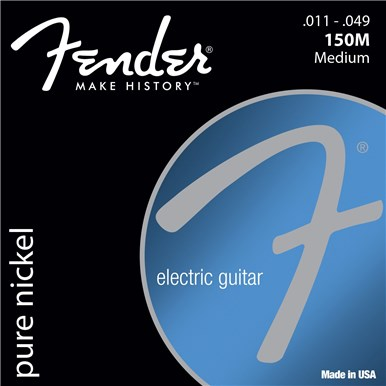 Fender ORIGINAL PURE NICKEL 150 GUITAR STRINGS - .011-.049
