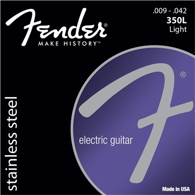 Fender STAINLESS STEEL 350'S - .009-.042