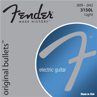 FENDER 3150 ORIGINAL BULLETS™ - PURE NICKEL BULLET ENDS - .009-.042