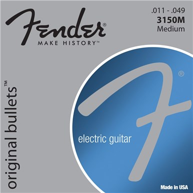 FENDER 3150 ORIGINAL BULLETS™ - PURE NICKEL BULLET ENDS - .011-.049