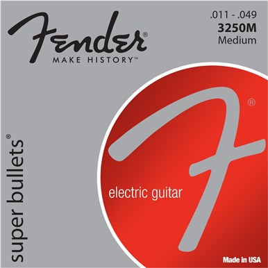 FENDER® 3250 SUPER BULLETS® .011-.049 - 3250M
