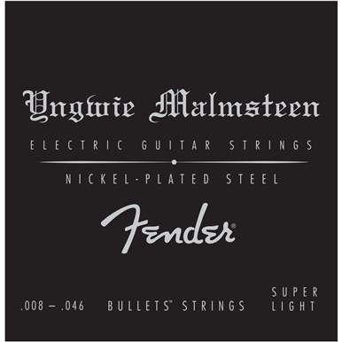 Fender YNGWIE MALMSTEEN SIGNATURE ELECTRIC GUITAR STRINGS - .008-.046